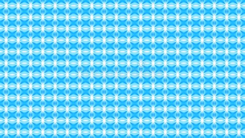 Γεωμετρική άνευ ραφής χειμερινή φωτεινή διακόσμηση με τα μικρά στοιχεία μέσα διανυσματική απεικόνιση
