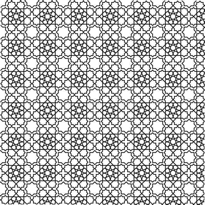 γεωμετρική διακόσμηση διανυσματική απεικόνιση