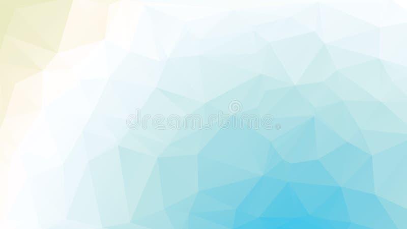 Γεωμετρική μαλακή μπλε ευρεία οθόνη υποβάθρου σύστασης απεικόνιση αποθεμάτων