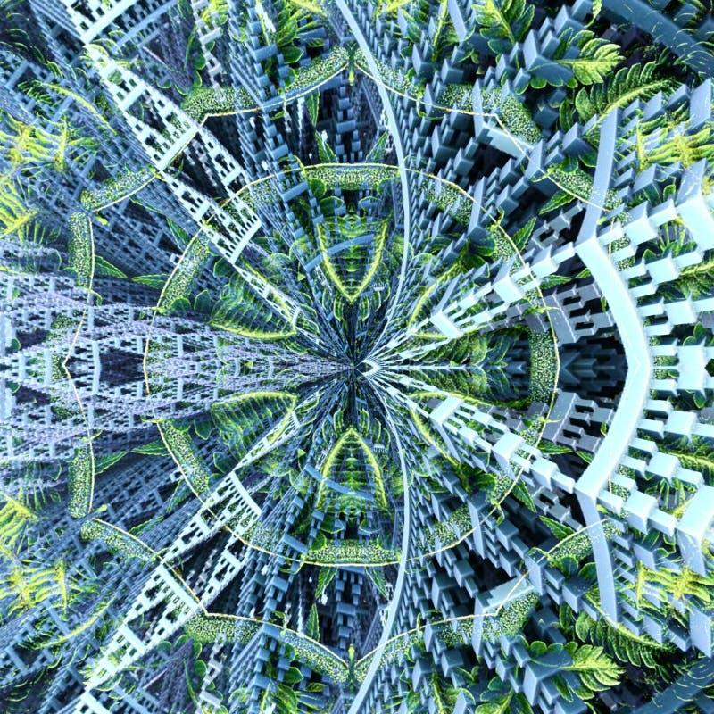Γεωμετρική σκηνή σχεδίων στοκ εικόνα με δικαίωμα ελεύθερης χρήσης