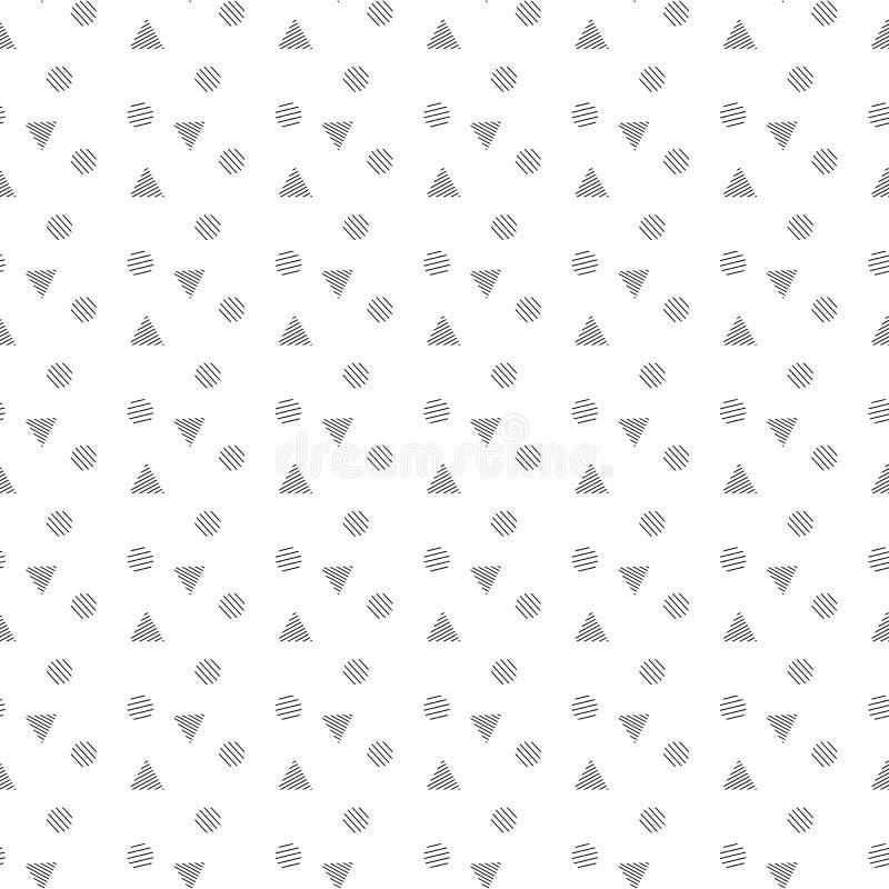 Γεωμετρικό άνευ ραφής διάνυσμα υποβάθρου σχεδίων Ταπετσαρία διακόσμησης και γεωμετρίας στοκ εικόνα