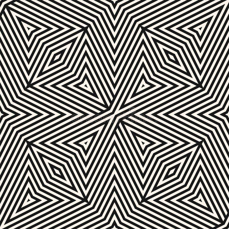 Γεωμετρικό άνευ ραφής σχέδιο γραμμών Διανυσματικό γραπτό αφηρημένο υπόβαθρο ελεύθερη απεικόνιση δικαιώματος