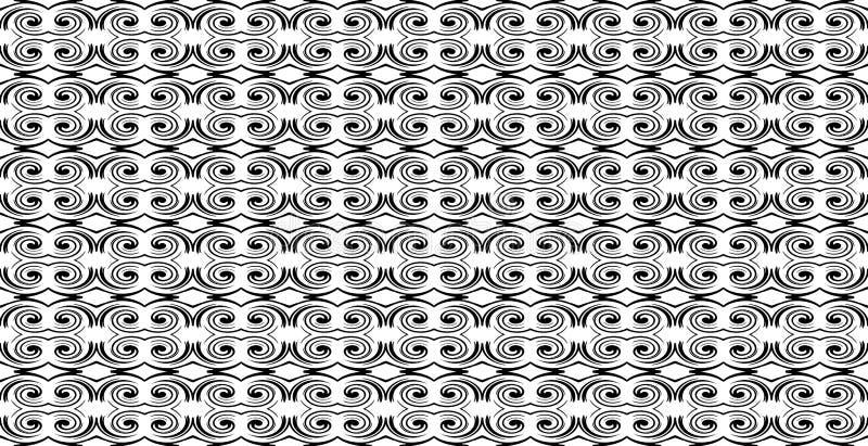 Γεωμετρικό άνευ ραφής σχέδιο με τα γραπτά στοιχεία με το $cu απεικόνιση αποθεμάτων