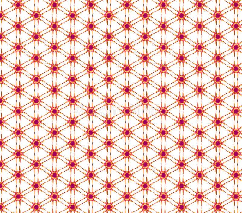 Γεωμετρικό άνευ ραφής σχέδιο στις σκιές του κοκκίνου Μπορέστε να χρησιμοποιηθείτε αυτό το π απεικόνιση αποθεμάτων