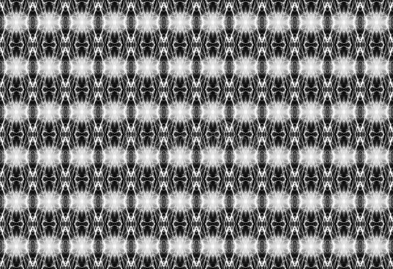Γεωμετρικό άνευ ραφής σχέδιο στο Μαύρο και white_ ελεύθερη απεικόνιση δικαιώματος