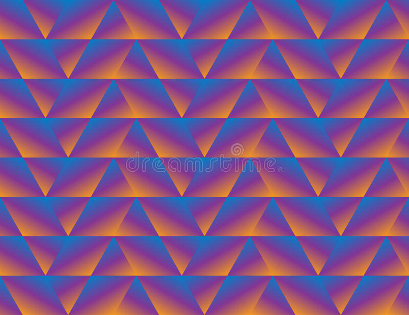 Γεωμετρικό άνευ ραφής υπόβαθρο τριγώνων ελεύθερη απεικόνιση δικαιώματος