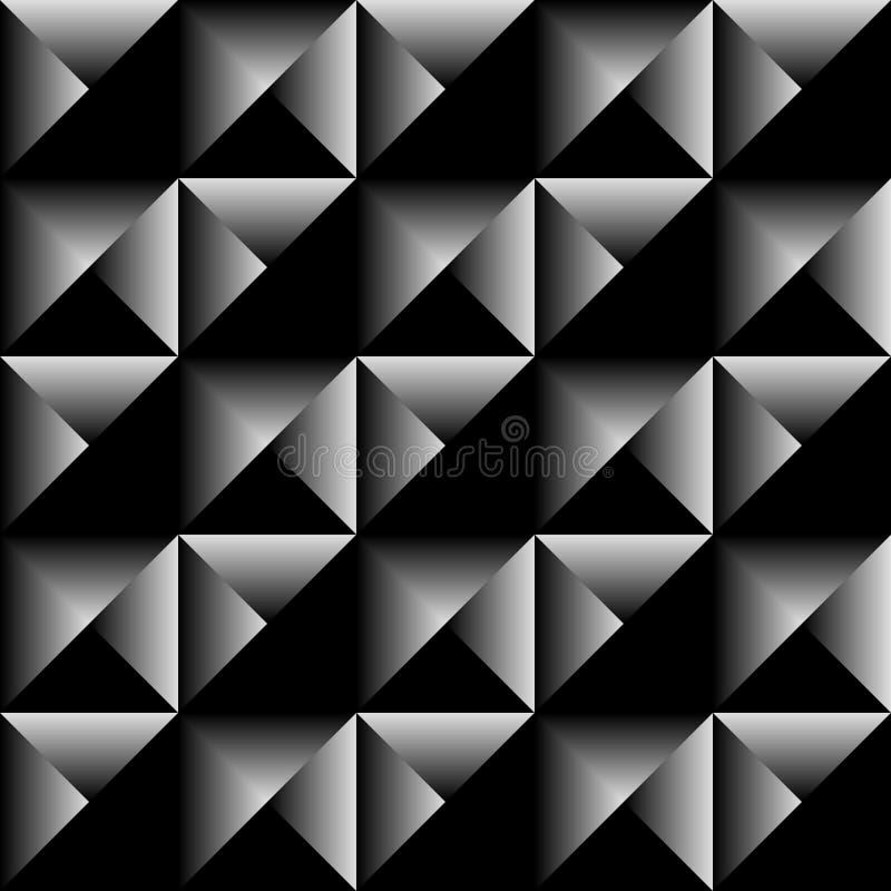 Γεωμετρικό άνευ ραφής υπόβαθρο τριγώνων διανυσματική απεικόνιση