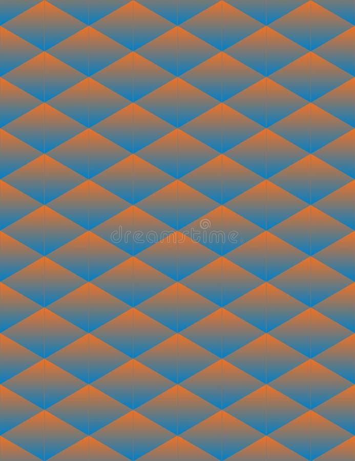 Γεωμετρικό άνευ ραφής υπόβαθρο τριγώνων απεικόνιση αποθεμάτων