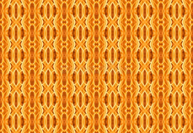 Γεωμετρικό αφηρημένο σχέδιο στα θερμά χρώματα Ανασκόπηση για το σχέδιο απεικόνιση αποθεμάτων