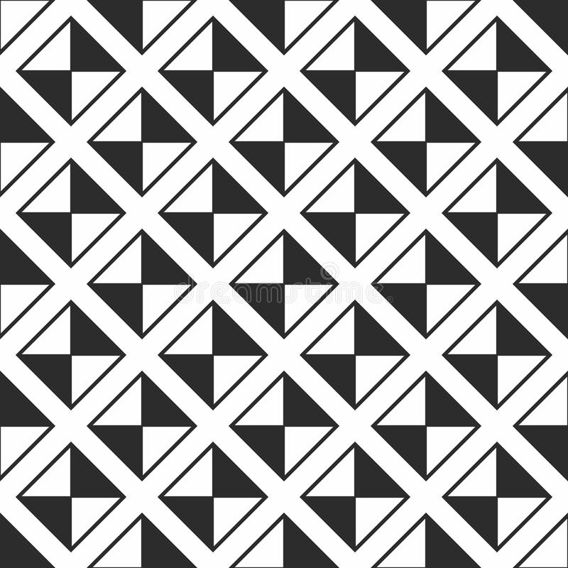 γεωμετρικό πρότυπο άνευ ραφής Απλό κανονικό υπόβαθρο ελεύθερη απεικόνιση δικαιώματος