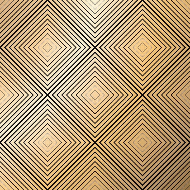 γεωμετρικό πρότυπο άνευ ραφής Απλό κανονικό υπόβαθρο απεικόνιση αποθεμάτων