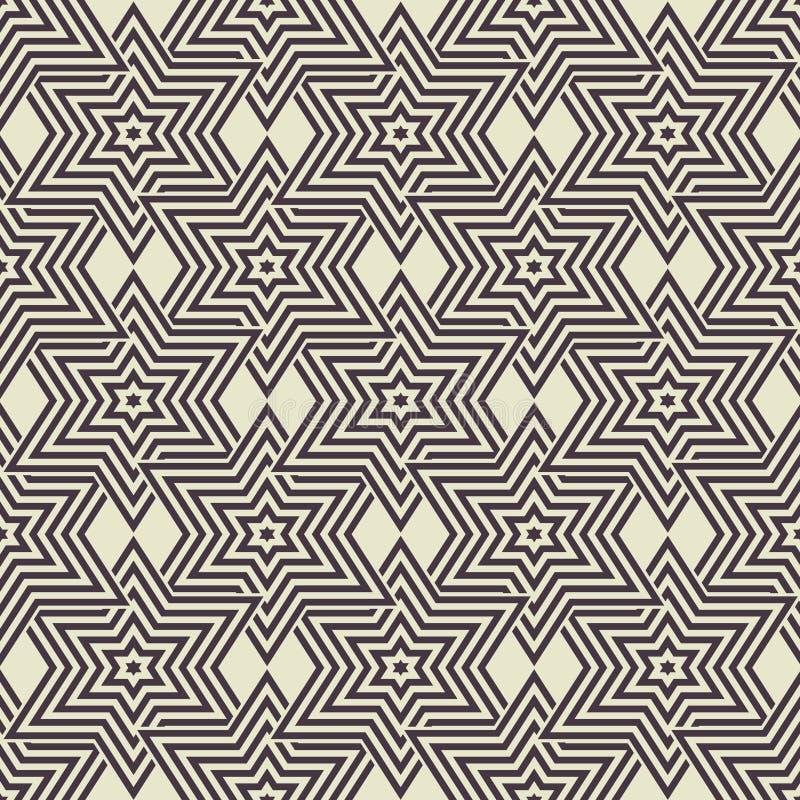 Γεωμετρικό υπόβαθρο άνευ ραφής διανυσματική απεικόνιση