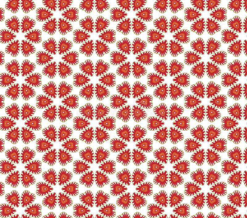 Γεωμετρικό floral άνευ ραφής σχέδιο Μπορέστε να χρησιμοποιηθείτε αυτά τα σχέδια όπως διανυσματική απεικόνιση