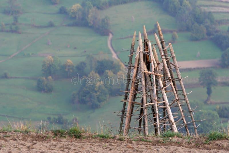 γεωργία στρέμματος στοκ φωτογραφία με δικαίωμα ελεύθερης χρήσης