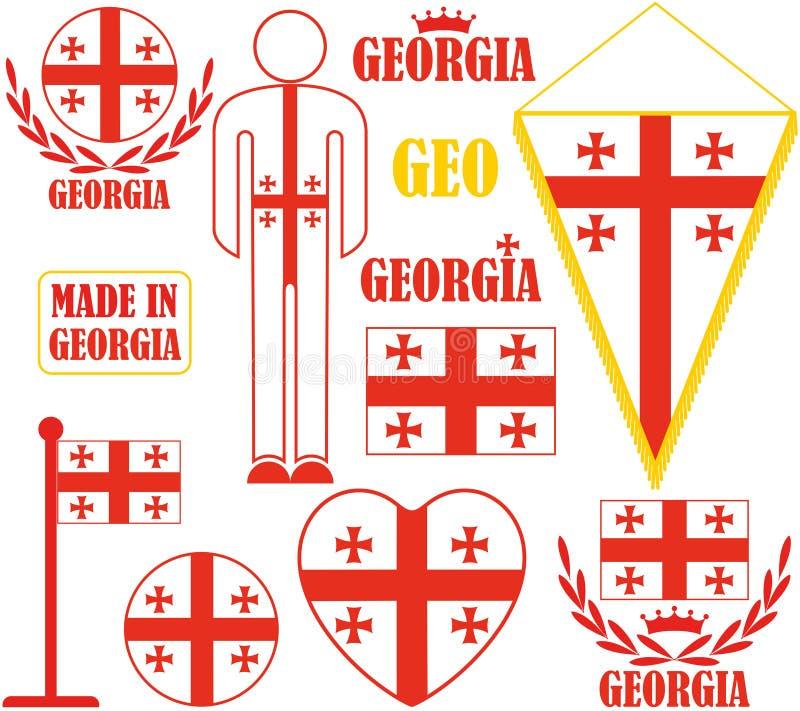 Γεωργία διανυσματική απεικόνιση