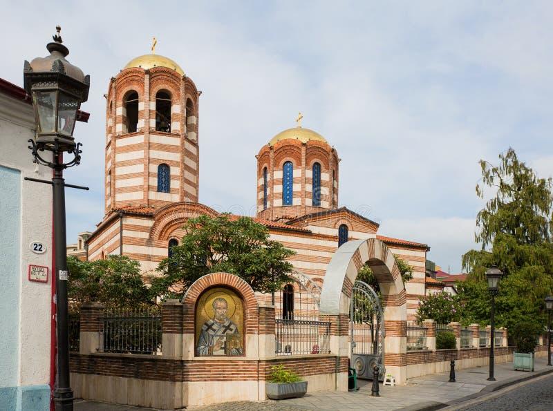 Γεωργία, Batumi, ΕΚΚΛΗΣΙΑ του ΙΕΡΟΥ NIKOLAI στοκ εικόνα με δικαίωμα ελεύθερης χρήσης