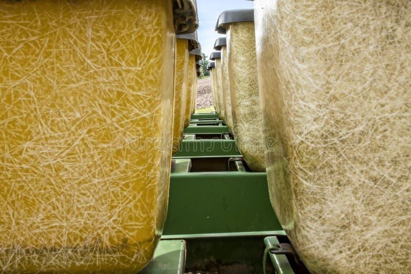 Γεωργικός καλλιεργητής σπόρου στοκ εικόνα με δικαίωμα ελεύθερης χρήσης