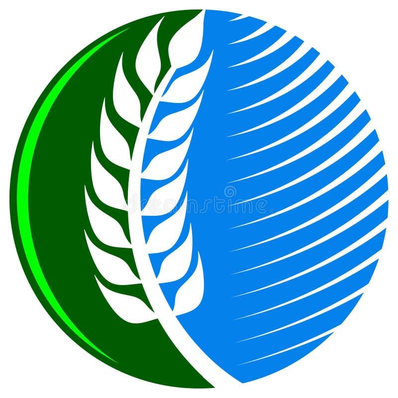 Γεωργικό λογότυπο ελεύθερη απεικόνιση δικαιώματος
