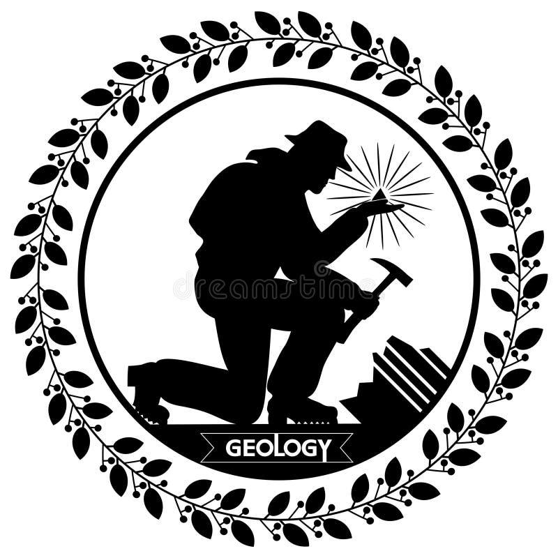 Γεωλογία ημέρας διανυσματική απεικόνιση