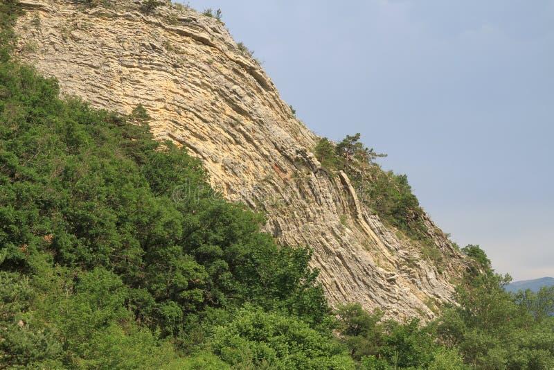 Γεωλογικό χαρακτηριστικό γνώρισμα Anticline στοκ εικόνες