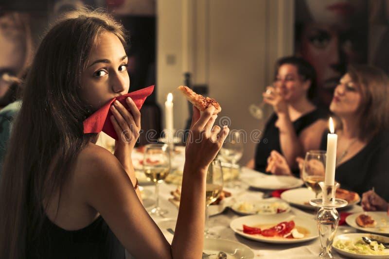 Γεύμα από κοινού στοκ φωτογραφίες