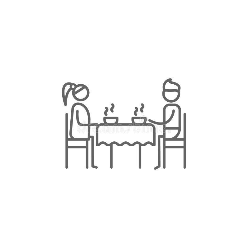 Γεύμα, εικονίδιο γονέων r r ( διανυσματική απεικόνιση