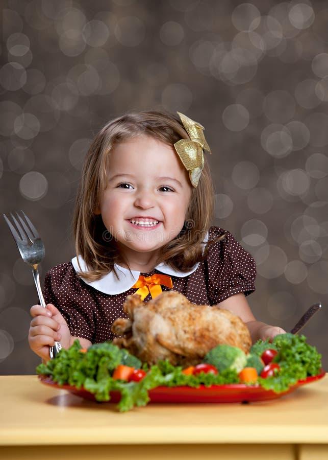 Γεύμα ημέρας των ευχαριστιών στοκ φωτογραφίες