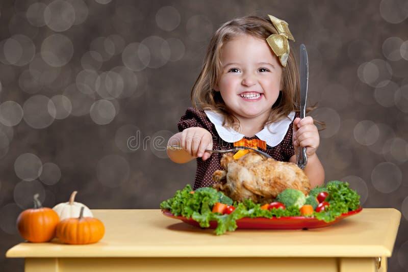 Γεύμα ημέρας των ευχαριστιών στοκ φωτογραφία με δικαίωμα ελεύθερης χρήσης