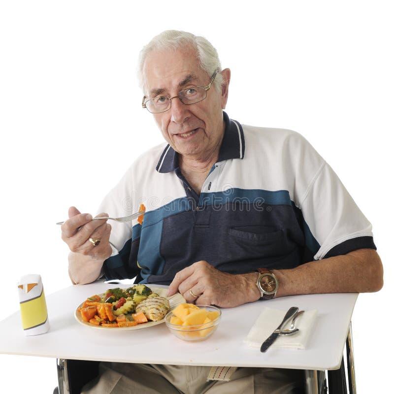 Γεύμα νοσοκομείων στοκ εικόνα με δικαίωμα ελεύθερης χρήσης