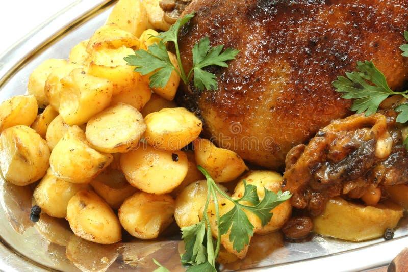 γεύμα Τουρκία στοκ εικόνα
