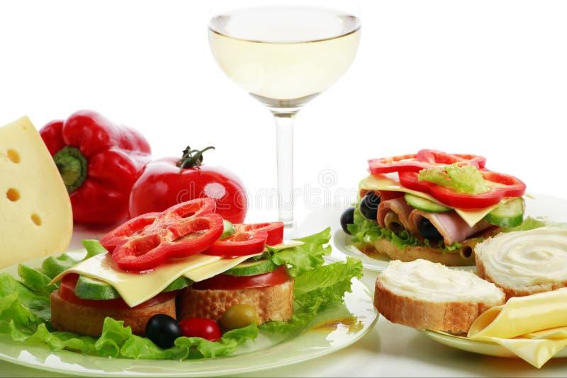 γεύμα υγιές στοκ εικόνες με δικαίωμα ελεύθερης χρήσης