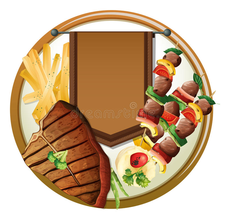 γεύμα απεικόνιση αποθεμάτων