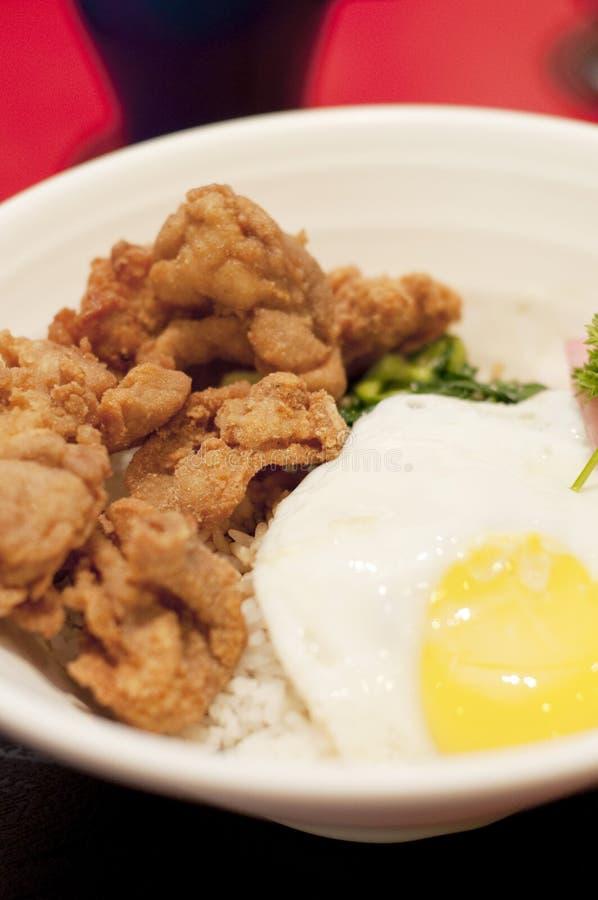 Γεύμα Katsu κοτόπουλου στοκ φωτογραφία με δικαίωμα ελεύθερης χρήσης