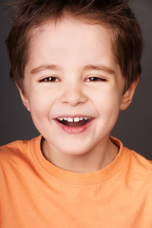 Γελώντας παιδί στοκ εικόνες με δικαίωμα ελεύθερης χρήσης