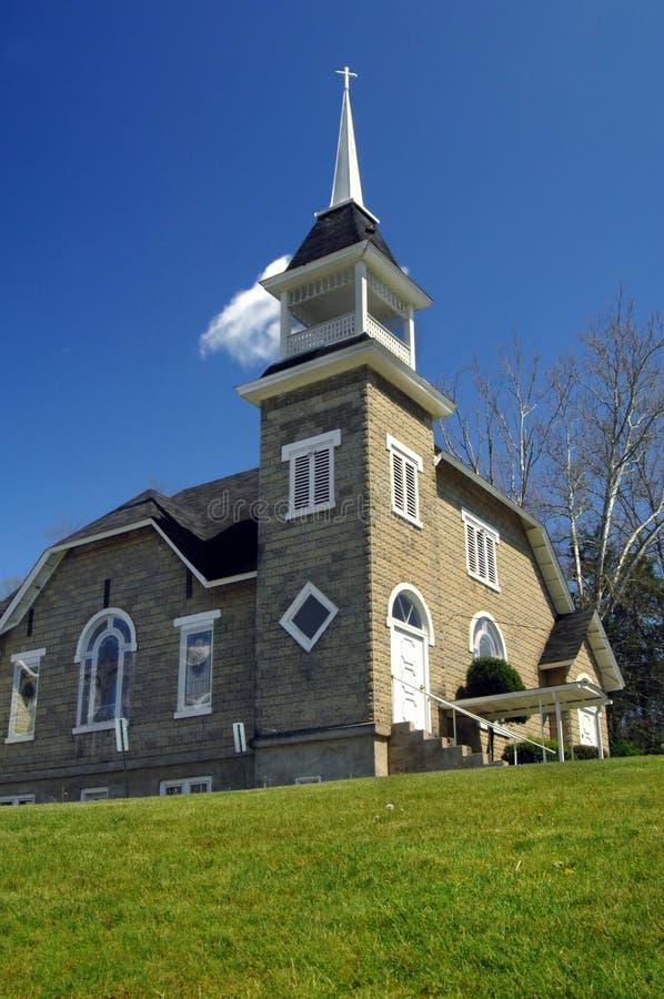 γηράσκουσα πέτρα εκκλησιών στοκ φωτογραφία με δικαίωμα ελεύθερης χρήσης