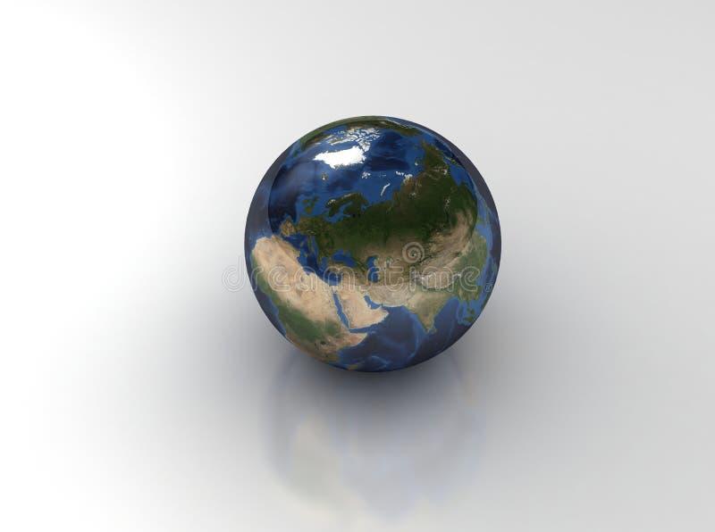 γη μοναδική ελεύθερη απεικόνιση δικαιώματος