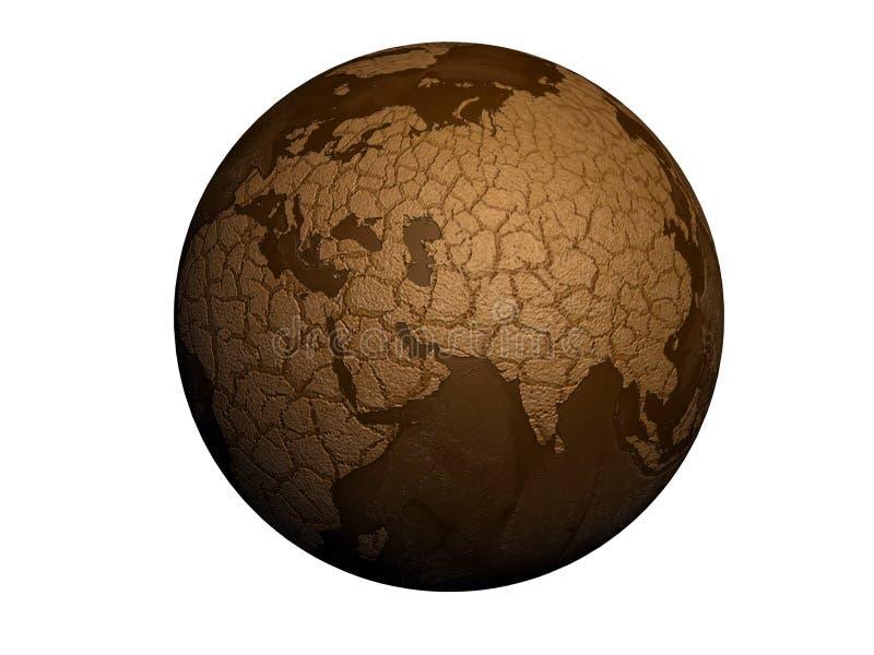 γη ξηρασίας διανυσματική απεικόνιση
