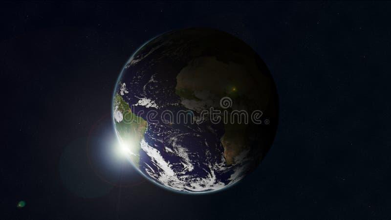 γη 2 διανυσματική απεικόνιση