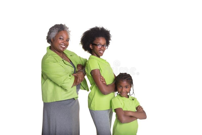 Γιαγιά και 2 εγγονές της στοκ φωτογραφίες με δικαίωμα ελεύθερης χρήσης