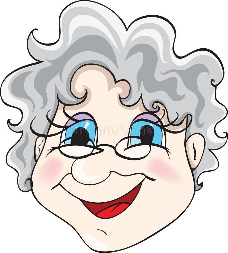 γιαγιά διανυσματική απεικόνιση