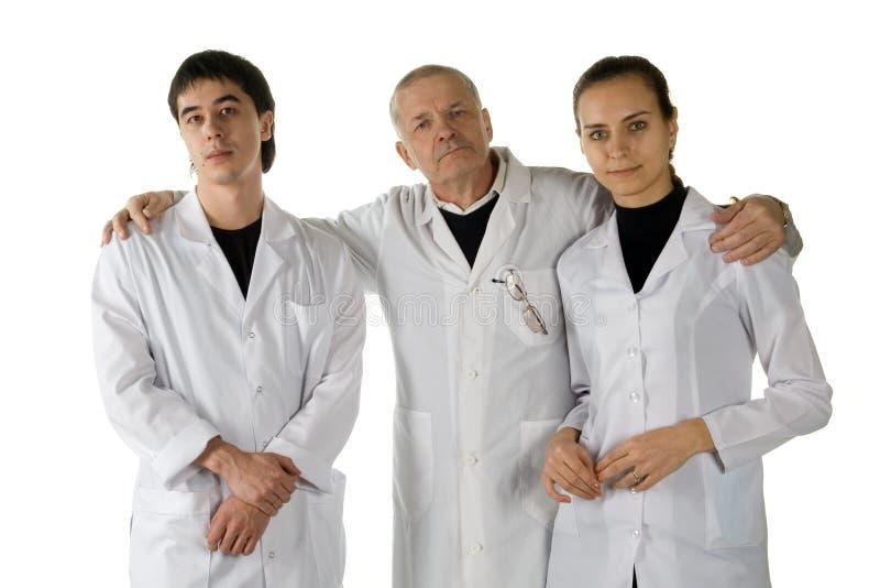 γιατροί τρία στοκ φωτογραφία με δικαίωμα ελεύθερης χρήσης