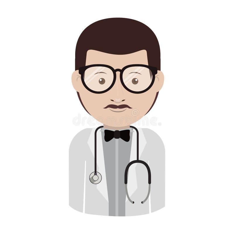 Γιατρός ατόμων ειδώλων ελεύθερη απεικόνιση δικαιώματος