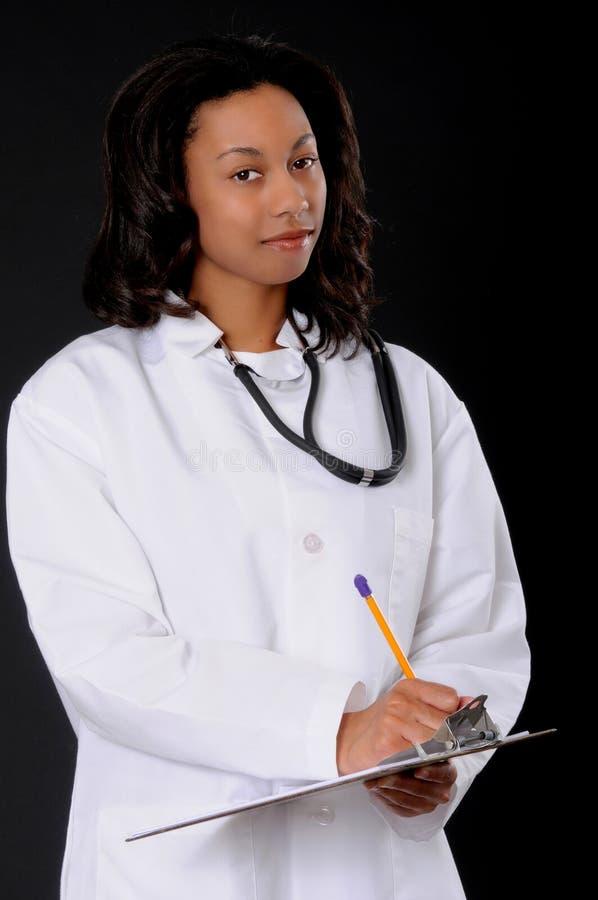 γιατρός αφροαμερικάνων κ&a στοκ φωτογραφίες
