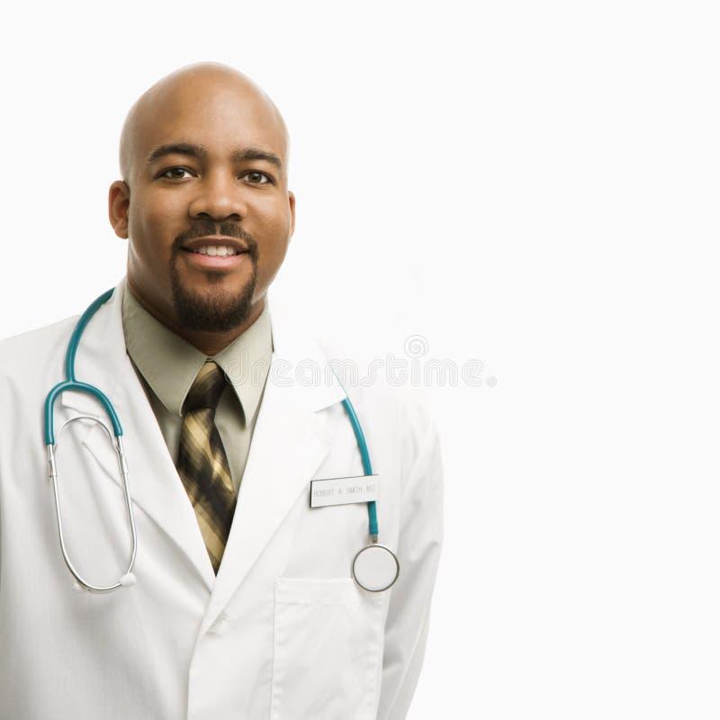 γιατρός αφροαμερικάνων στοκ φωτογραφία με δικαίωμα ελεύθερης χρήσης