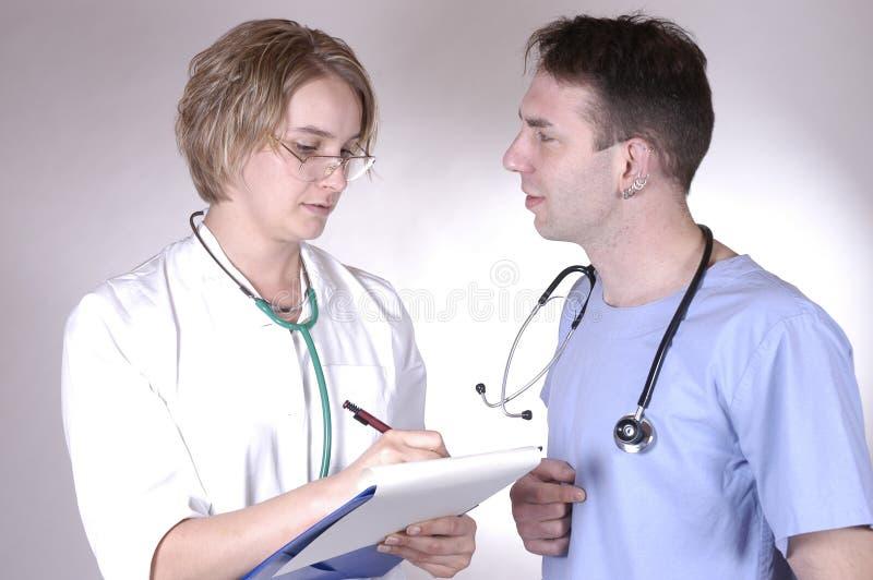 γιατρός γύρω από το s στοκ εικόνες με δικαίωμα ελεύθερης χρήσης