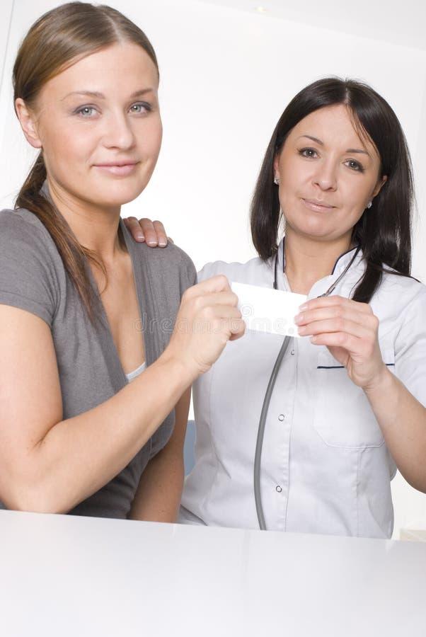 Γιατρός και ασθενής στοκ φωτογραφία με δικαίωμα ελεύθερης χρήσης