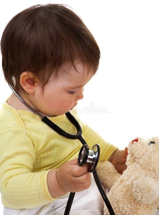 γιατρός μωρών στοκ φωτογραφίες