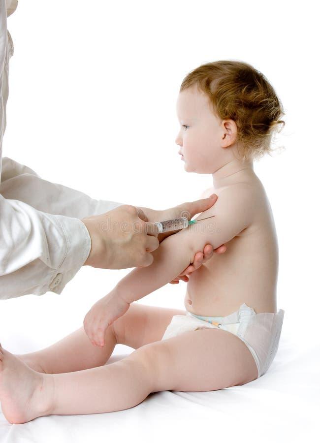 γιατρός παιδιών λίγα στοκ εικόνα με δικαίωμα ελεύθερης χρήσης
