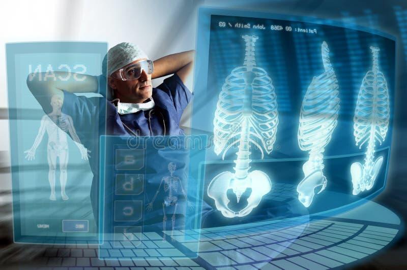 γιατρός σύγχρονος στοκ εικόνες
