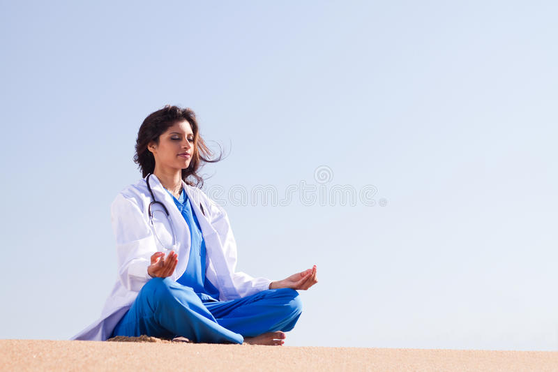 Γιατρός υγειονομικής περίθαλψης στοκ φωτογραφία